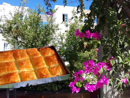Μπουγάτσα με κρέμα - Οι συνταγές του Villa Patmos Netia