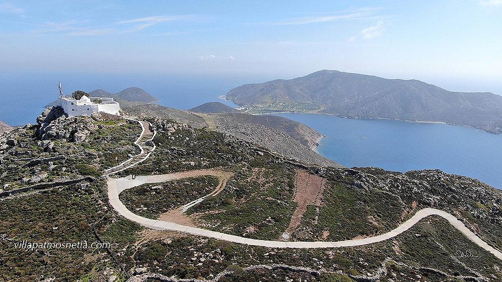 Profitilis ilas monastery Patmos