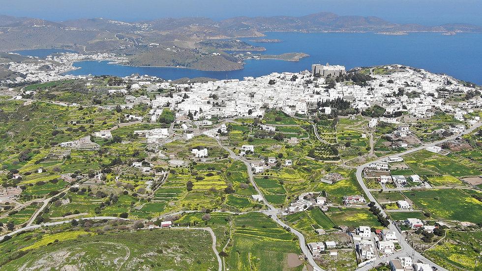 Skyline Chora Patmos