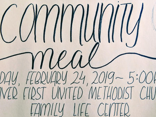 Community Meal Feb 24