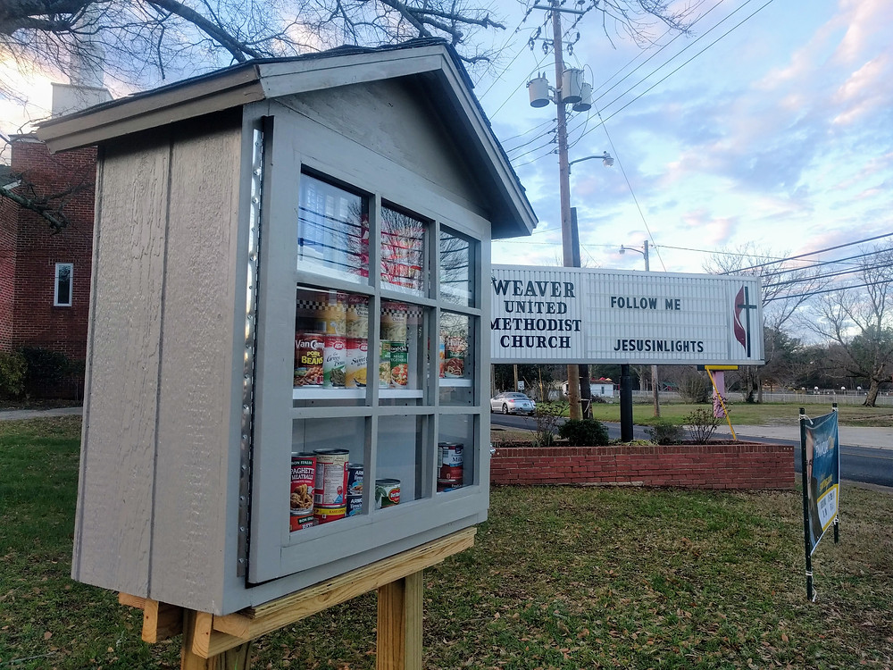 Our Miniature Food Pantry began on Christmas Eve, 2016