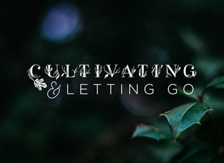 Cultivating & Letting Go: Lent Worship Series