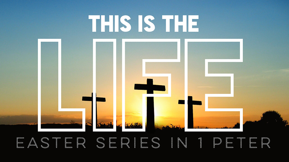 Easter Worship Series Graphic