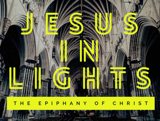 Come and See: Jesus. In. Lights.