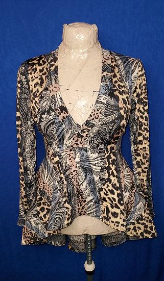 Animal Print Design Dress