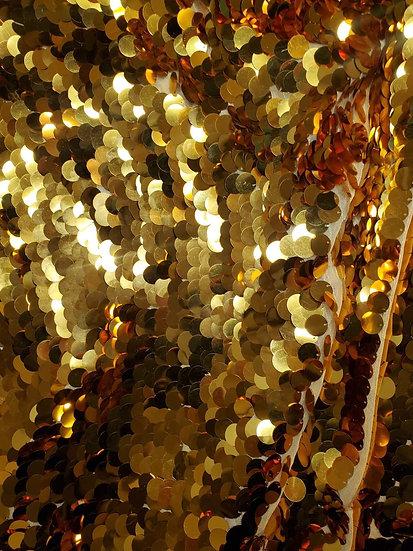 Gold Sequin Fabric