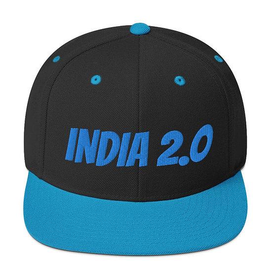 India 2.0 Snapback Hat
