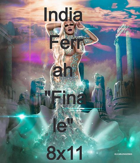 "India Ferrah ""Finale"" 8x11"