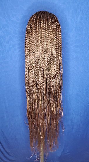 40in Long Braided Lace Front Wig