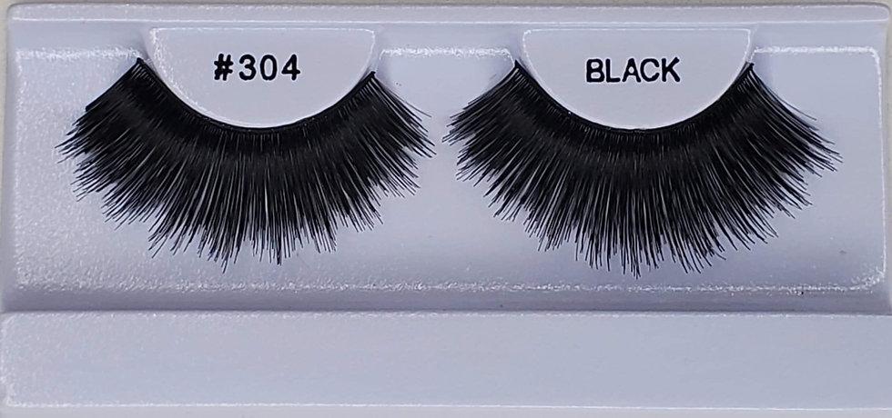 #304 False Black Eyelashes