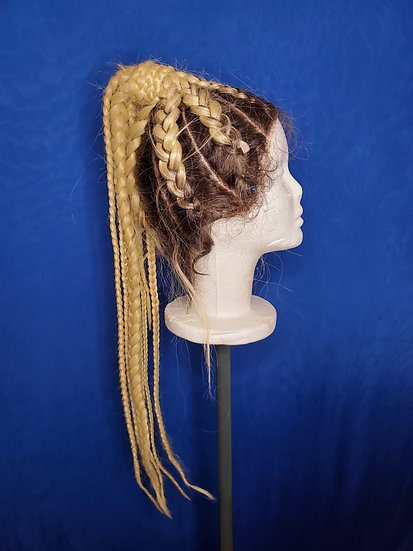 Braided Ponytail Lace Front Wig