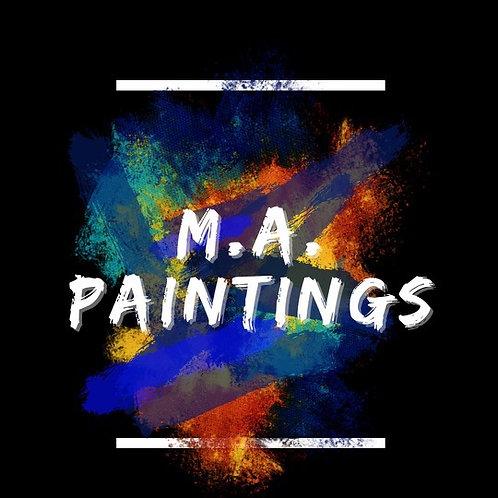3 Color Paintings Custom Designs