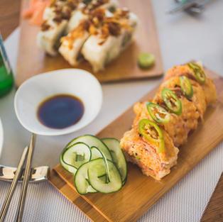 Freshly Prepared Sushi