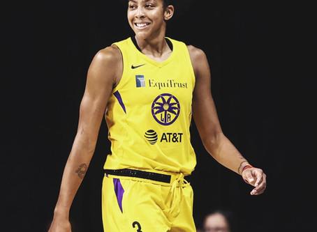 Candace Parker é eleita a defensora do ano na WNBA