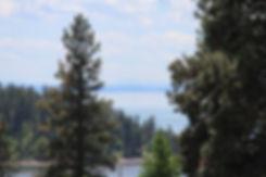 Beautiful view of Flathead Lake