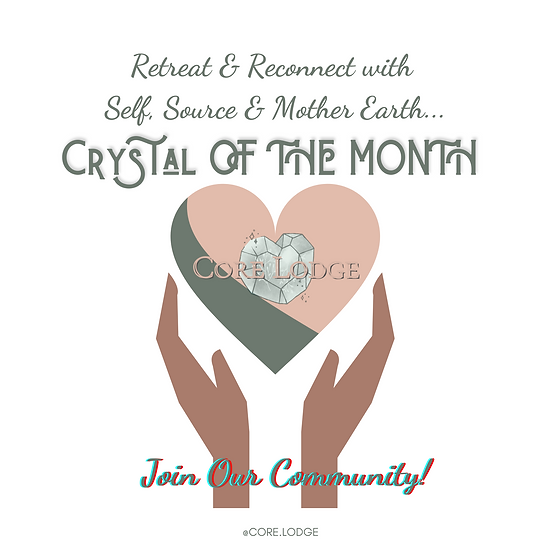"""""""Crystal of the Month"""" Club (Subscribe & Save Available!)"""