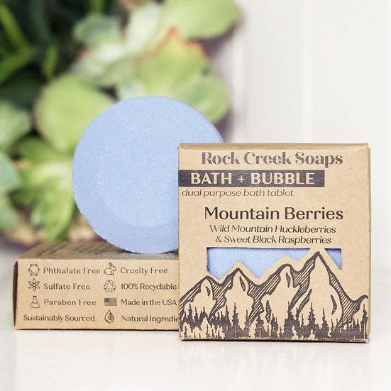 Bath Bomb | Mountain Berries | BATH + BUBBLE