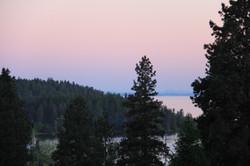 Evening Lake Glow