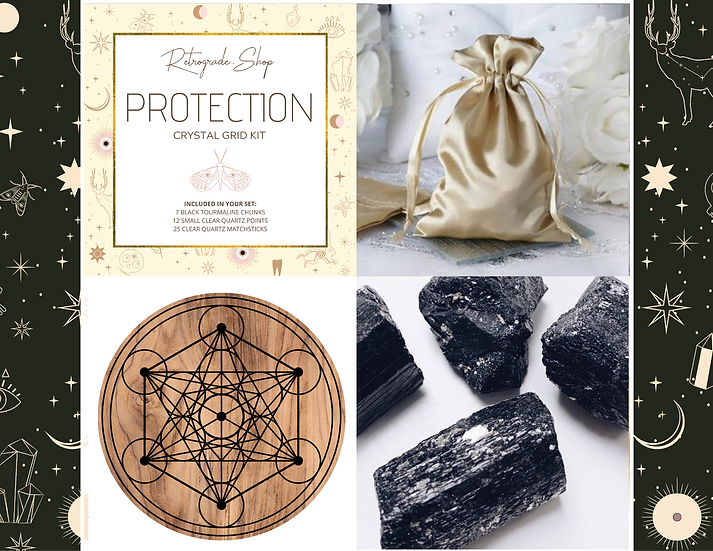 Protection Crystal Grid Kit