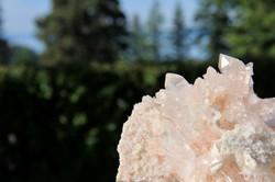 High Vibration Pink Himalayan Quartz Cluster