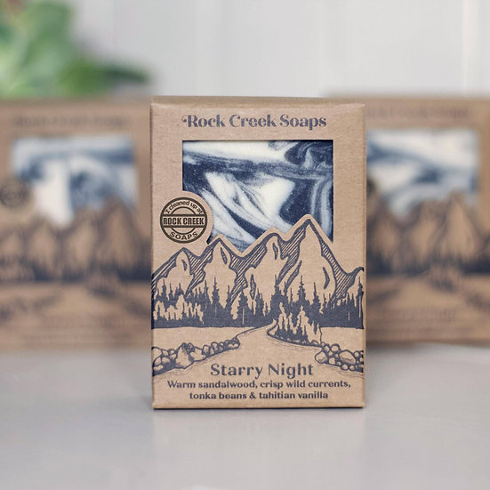 SOAP BAR | STARRY NIGHT - sandalwood, currants, & vanilla