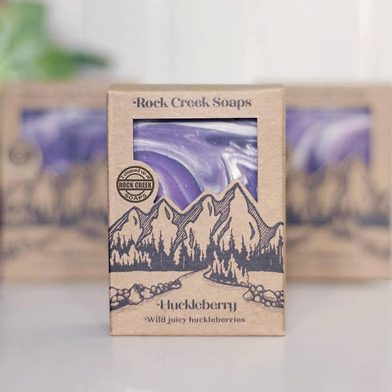 SOAP BAR | HUCKLEBERRY- wild juicy huckleberries