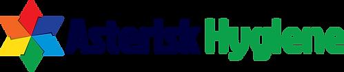 Asterisk Hygiene logo on white - revised