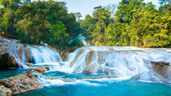 Cascadas de Agua Azul