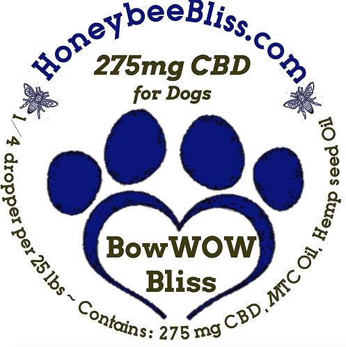 BowWOW Bliss 275mg CBD