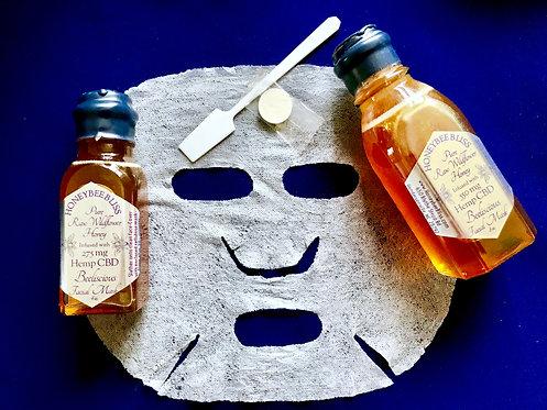 BEEliscious Facial Mask with Honey & Hemp CBD