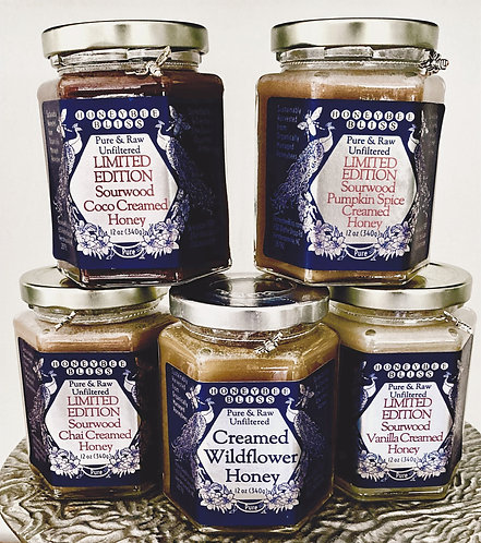 CREAMED HONEY-Limited Edition Sourwood & Wildflower