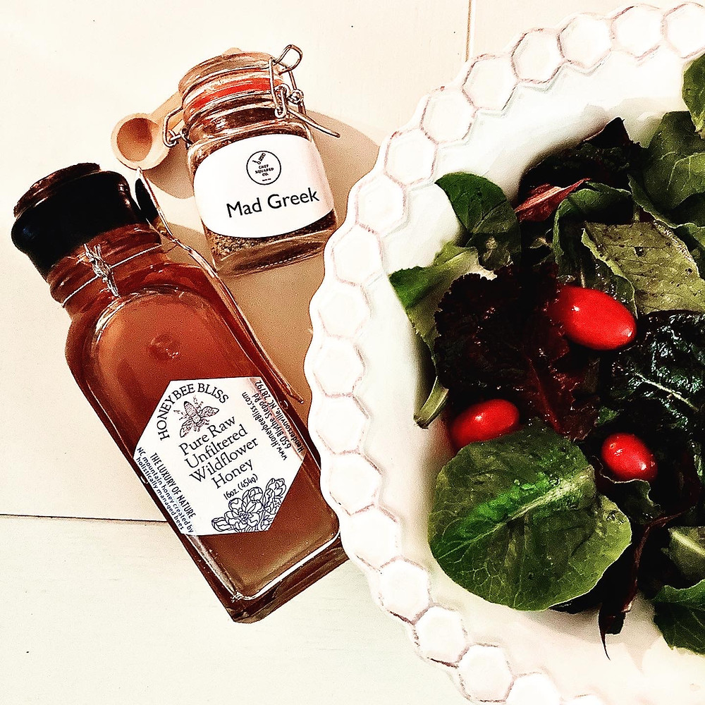Honeybee Bliss Honey Salad Dressing