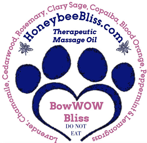 BowWOW Bliss Massage Oil