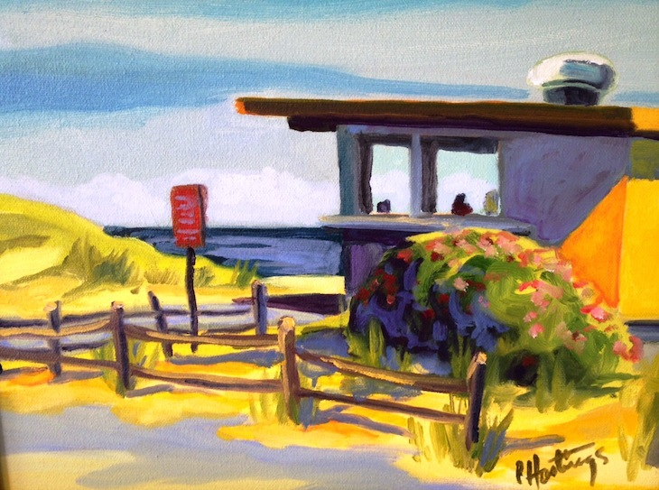 Old Snack Bar at Herring Cove