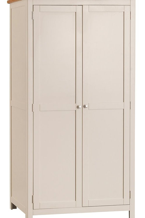 The Toulouse Full Hanging Wardrobe in Stone