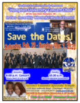 SAVE THE DATE - Hampton Univ