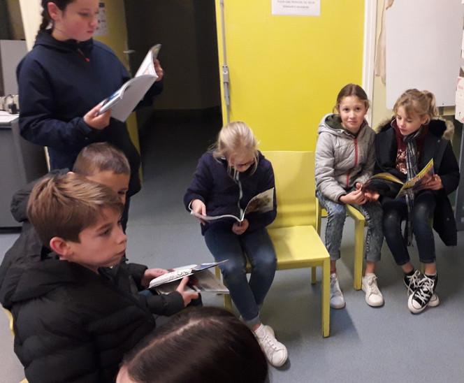 Visite école ste Geneviève 2019
