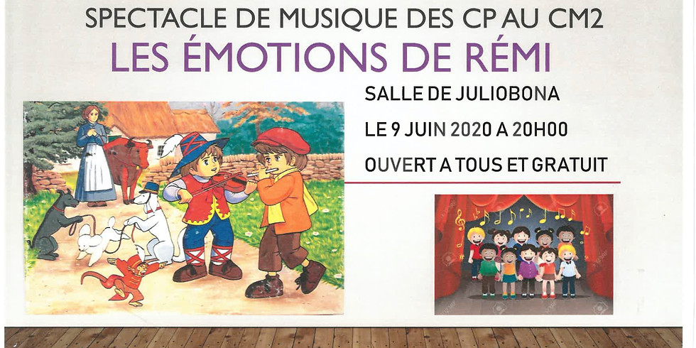 Spectacle Educamuse - ANNULATION