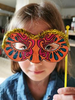 Masques enfants CE1 CE2