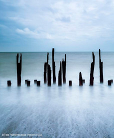 Landscape Photograph of Winchelsea beach, Kent.