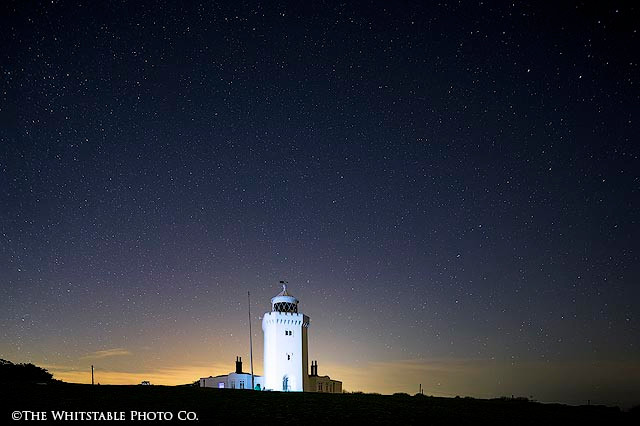 Landscape Photograph of South Foreland Lighthouse, Kent.