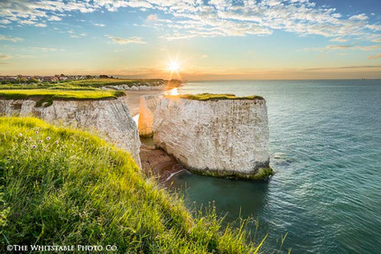 Landscape Photograph of Botany Bay, Thanet, Kent.