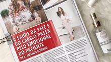 Dra. Amanda Bombini é entrevistada pela equipe da revista Caras