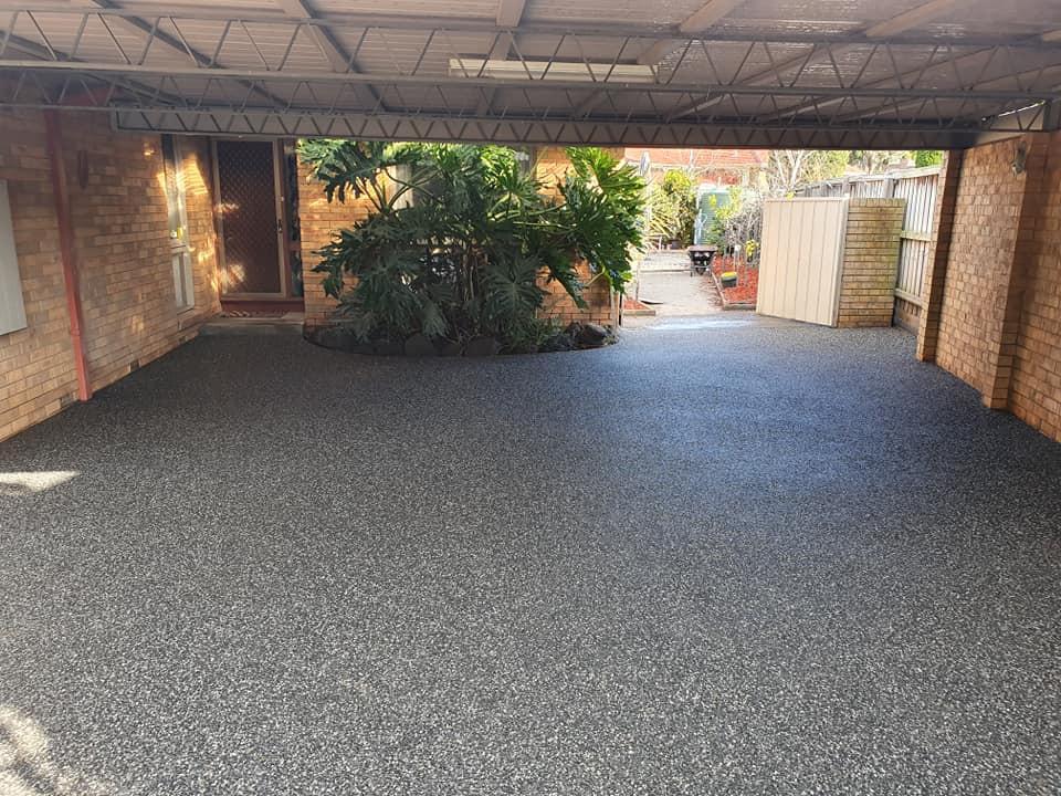 Frankston concrete driveways