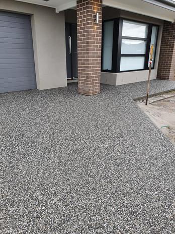 Concrete colours for driveway