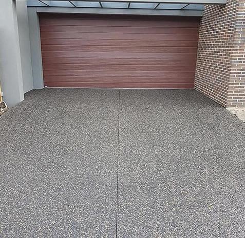 Aggregate driveways Melbourne
