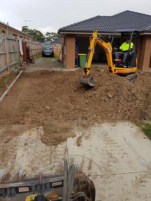 Concrete excavation contractors