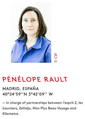 Pénélope Rault_Global team_Kilometre Paris