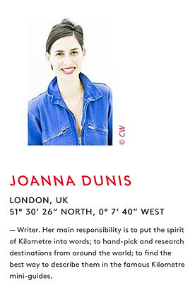 Joanna Dunis_Global team_Kilometre Paris