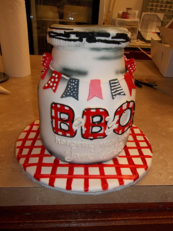 BarBQ Jar Cake